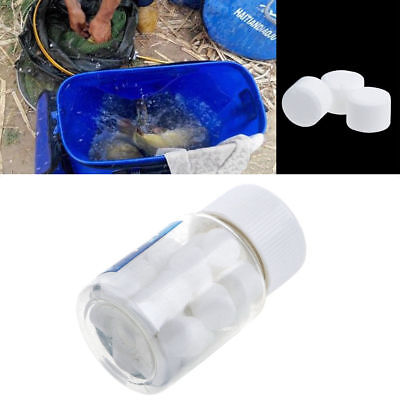 Oxygen Releasing Fishing Carp Bait Additive Tablets Transport Fishing 1 Bottle