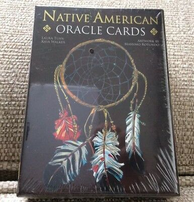 Native American Oracle Cards Spirituality Lo Scarabeo 33 Cards And Book