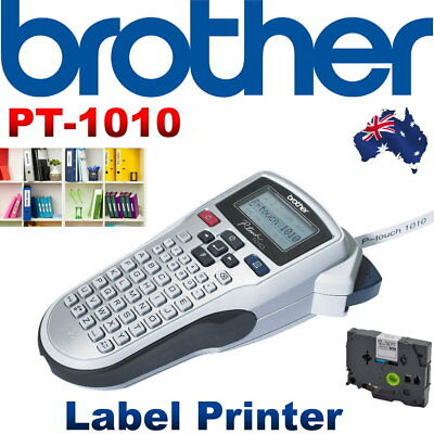 NEW Brother P-Touch 1010 Labelling Machine w/ Starter Tape Home Office Labeller