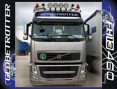 Volvo Globetrotter Sticker For The Front Top Of The Roof Fh