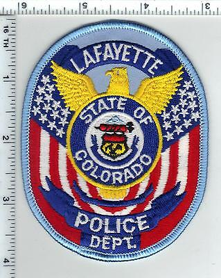 Lafayette Police (Colorado) Shoulder Patch from the 1980s