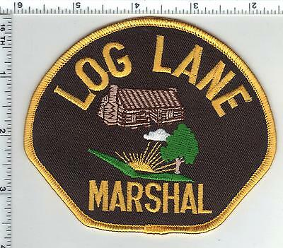 Log Lane Marshal (Colorado) Style 3 Shoulder Patch from the 1980s