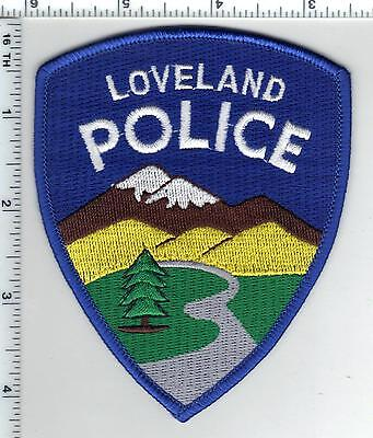 Loveland Police (Colorado) Shoulder Patch from the 1980s
