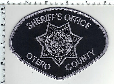 Otero County Sheriff's Dept. (Colorado) Subdued Shoulder Patch from the 1980's