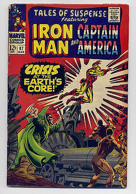 Tales of Suspense #85 G/VG 1967 ~ Iron Man Captain America Marvel Comic Stan Lee