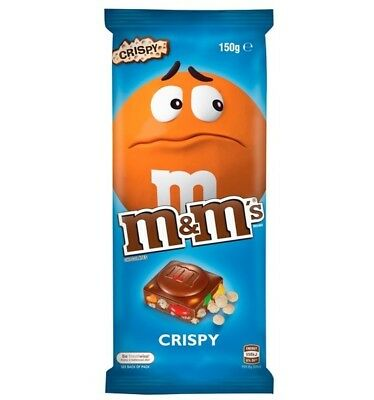 M&M's Crispy Block 150g x 13