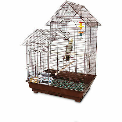 """You & Me Cockatiel Ranch House Bird Cage, 20"""" L x 16"""" W x 29"""" H"""