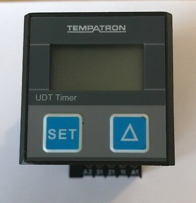 Tempatron Model: UDT Multi Function Timer Relay, 11-Pin Connector - Used