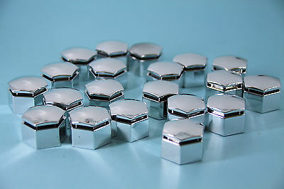 20 Chrome Wheel Nut Caps Covers - for Holden VE Commodore HSV Caprice
