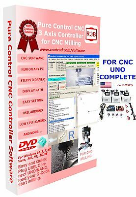 Arduino Uno CNC Complete Pure Control Easy to Use and Friendly Software