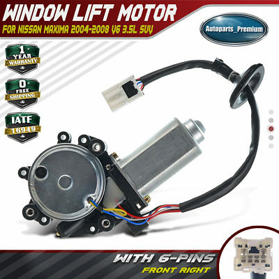 A-Premium Power Window Lift Motor for Infiniti QX56 2004-2009 Nissan Maxima 2004-2008 Rear Left Driver Side