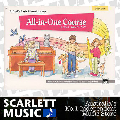 ABPL All-In-One Piano Lesson Book 1 (One / First) Alfred's Alfreds Basic Library