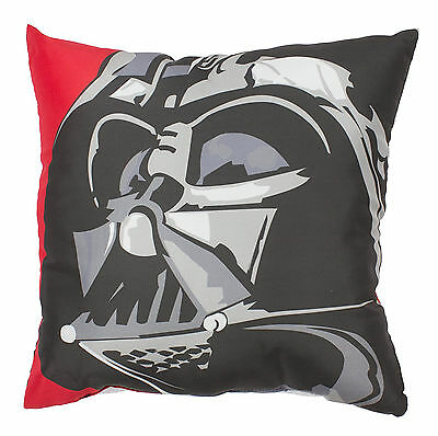 Star Wars Darth Vader Cushion Kids Childrens Bedroom Character Accessory 40x40cm