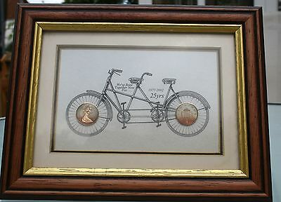 A One Penny Picture Frame
