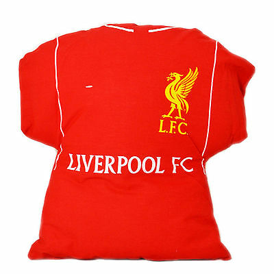 Liverpool FC Football Club Kit Cushion Bedroom Official Accessory Polycotton