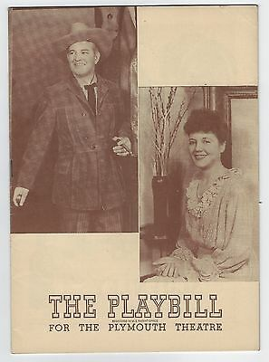 "1944? Playbill ""Chicken Every Sunday"" Sidney Blackmer The Plymouth Theatre"
