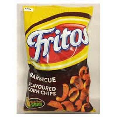 Fritos Barbecue Flavoured Corn Chips 120g