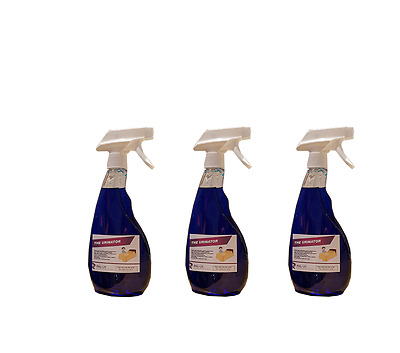 MATTRESS AND BED STAIN & SMELL CLEANER AND REMOVER URINE FAECES POO 3 x 500ml
