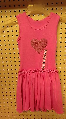 MIGNONE~toddler girl's dress~size 3T~neon pink