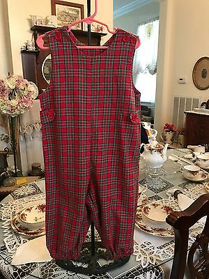 Rags Land Toddler Boys Christmas Plaid Long all size 3