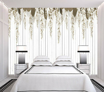 Quiet Flower Vine 3D Full Wall Mural Photo Wallpaper Printing Home Kids Decor