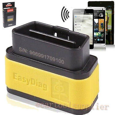 Launch Easydiag 2.0 Bluetooth Scanner OBDII Code Reader SRS ABS For Android