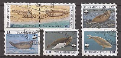 TURKMENISTAN  1993  Scott nr 34/38 COMPLET SET
