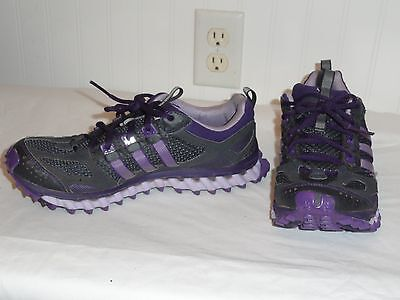 Women's Adidas Galaxy Incision Phantom Athletic Sneakers Purple Size 9