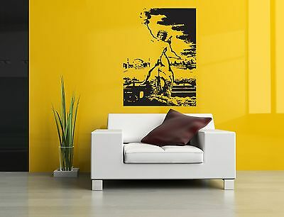 Wall Decor Vinyl Sticker Colossus of Rhodes Statue Protector Light House AS008