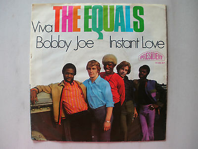 "7"" Single The Equals : Viva Bobby Joe"