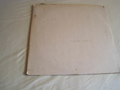2 LP THE BEATLES WHITE ALBM numbered : 511182 Apple 1C 192-04173