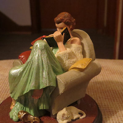 """Norman Rockwell Collection """"Dear Diary"""" Figurine"""