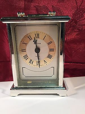 Bulova Quartz Clock Made in West Germany B1304