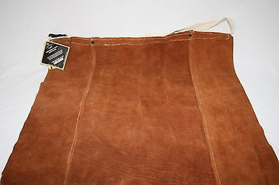 "Caiman Kevlar Tuff-Steer Brown Leather Welding Crafting Apron 24 x 24"" NEW"