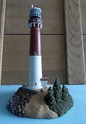 "Barnegat lighthouse figurine, about 7"" high"