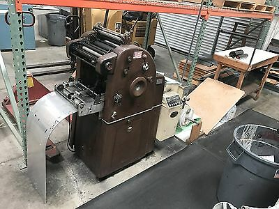 Continuous forms press A.B. Dick 360 with Thermotype Stepper Control