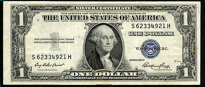 1935 $1 Silver Certificate with Blue Seal