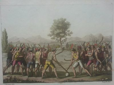 Chile Santiago Ferrario. First edition 1816 (Chilean playing ciueca)