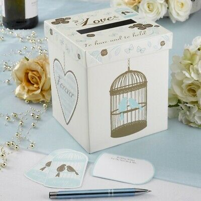 wedding wishes post box 25 bird in a cage cards to have and to