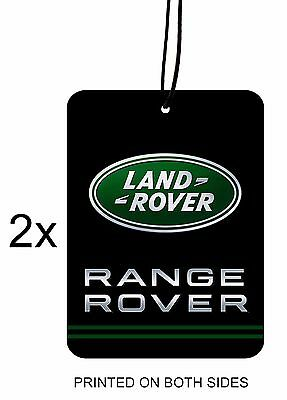 RANGE ROVER LAND ROVER Car Air Freshener Mirror Hanging ( 2 pieces)