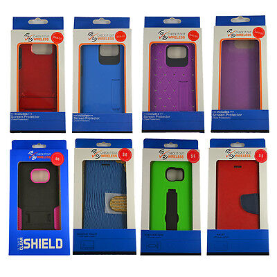 Samsung Galaxy S6 Cases on CLOSEOUT Overstock SALE 25PCS Wholesale Lot