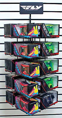 New Fly Racing Fly Goggle Spinner Rack - 363-9935