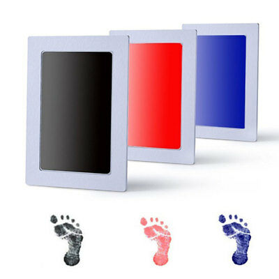 Baby New Born Inkless Touch Footprint Handprint Ink Pad Non Toxic Mess Free