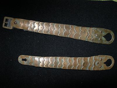 WW1 Chin Strap Scaly  Prussian Noncommissioned Officer Original Full Set