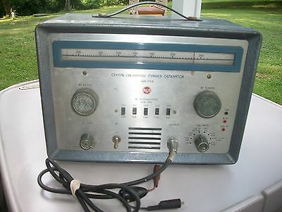RCA Crystal Calibrated Marker Generator Model WR99A