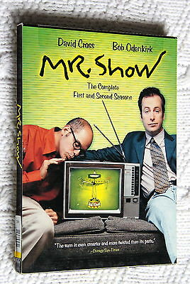 Mr Show Season 1 And 2 (Dvd, 2-Disc) Region: 1, Like New, Free Post Aus-Wide