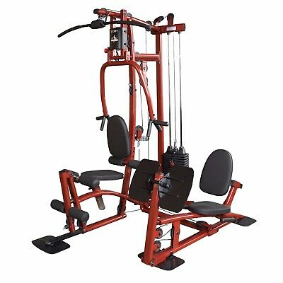 Body-Solid EXM1 Home Gym Multi Station Fitness Exercise Machine w/ Leg Press