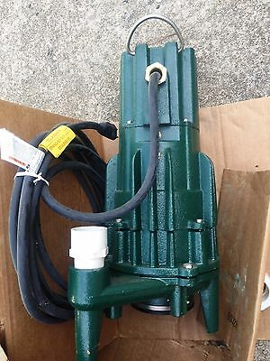 ZOELLER 820-0004 Grinder Pump, 230V  NEW
