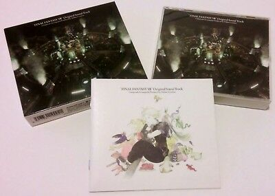 Rare - Final Fantasy Vii 7 Original Game Soundtrack 4 Cd Japan Squareset 1997