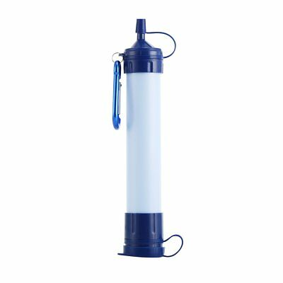 Portable Water Purifier Free Filter Camping Outdoor Wild Personal Drinking Kit